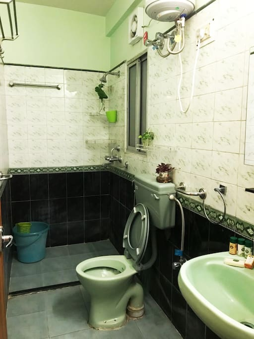 Well Fitted Attached Water Closet or Rest Room