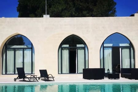 Interior designed Mini Castle with pool in Puglia