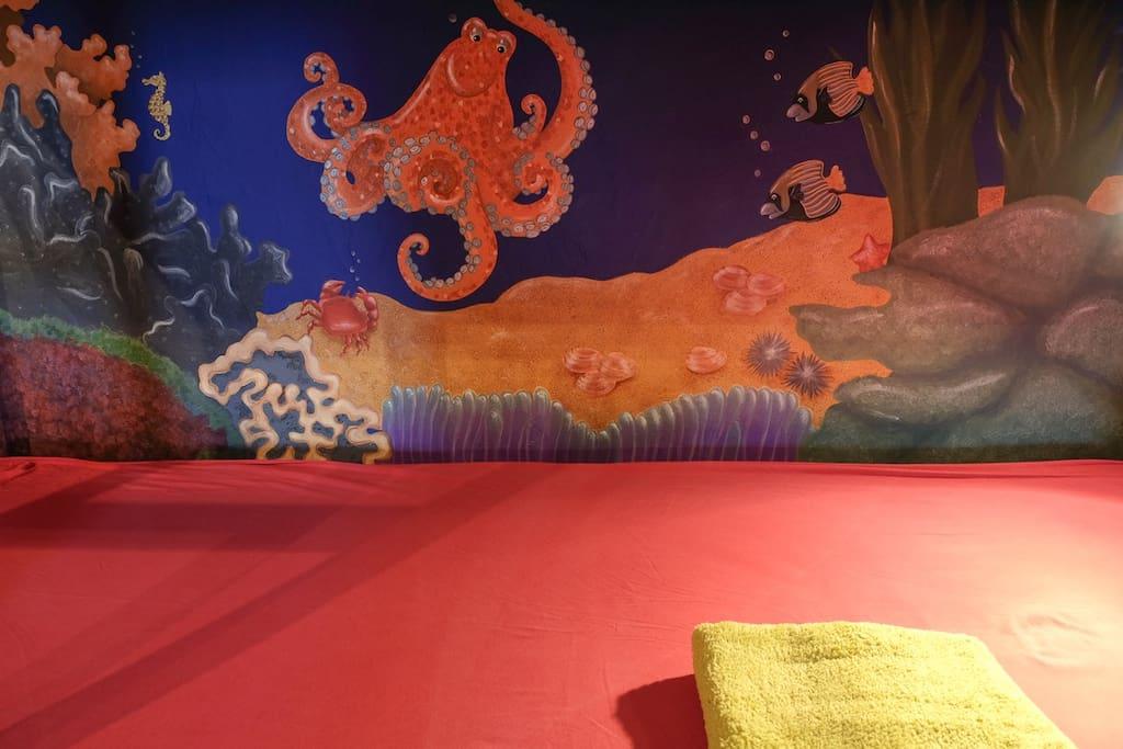 Custom wall paintings — by Filipa Machado.