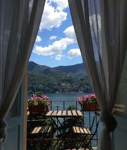 Villa Albonico B&B D/Room superb lake view garden