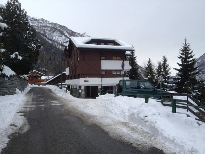 Trilocale per vacanze in montagna
