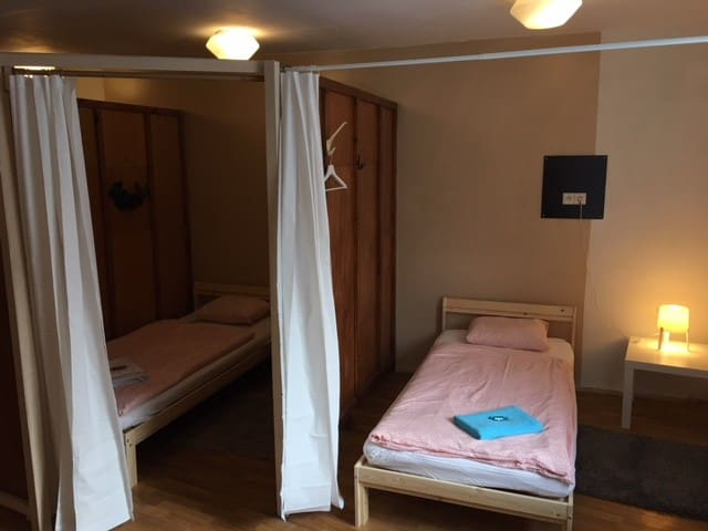 Hostel rooms