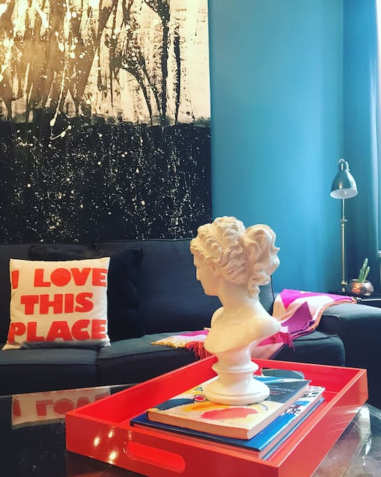 If you love art, you will LOVE this place!