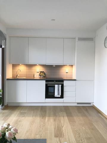 Ny, møblert leilighet ved Tønsberg Brygge