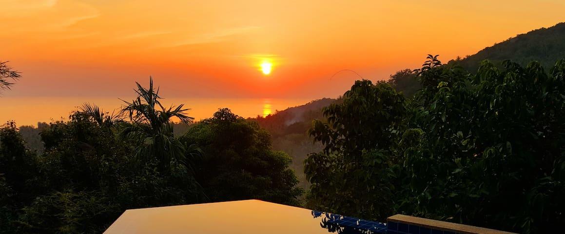 Private Pool Villa with sea view (V4)