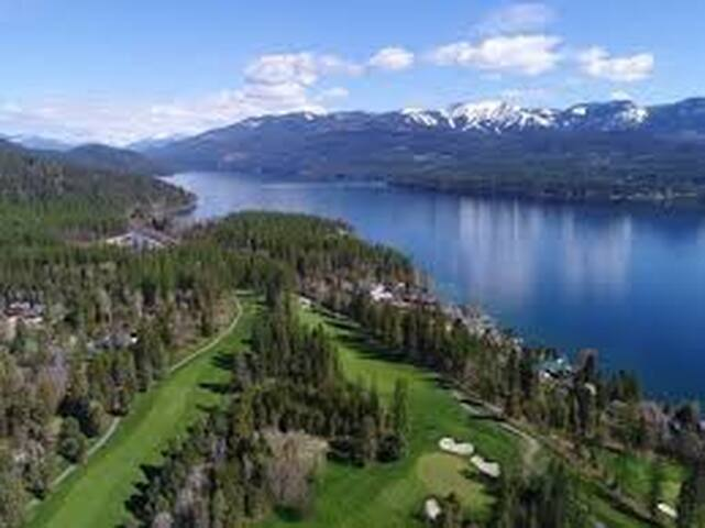 Whitefish Lake Golf Course 1/2 Mile Away