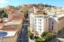 Cagliari downtown close to the beach