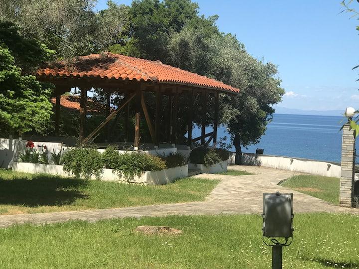 Private Beach villa Zeusplace seaside Litohoro