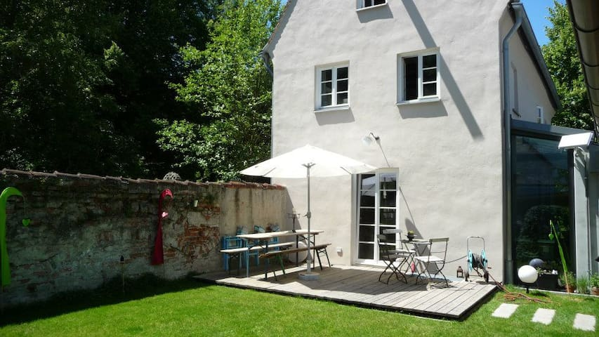 historisches Haus im Zentrum von Landsberg