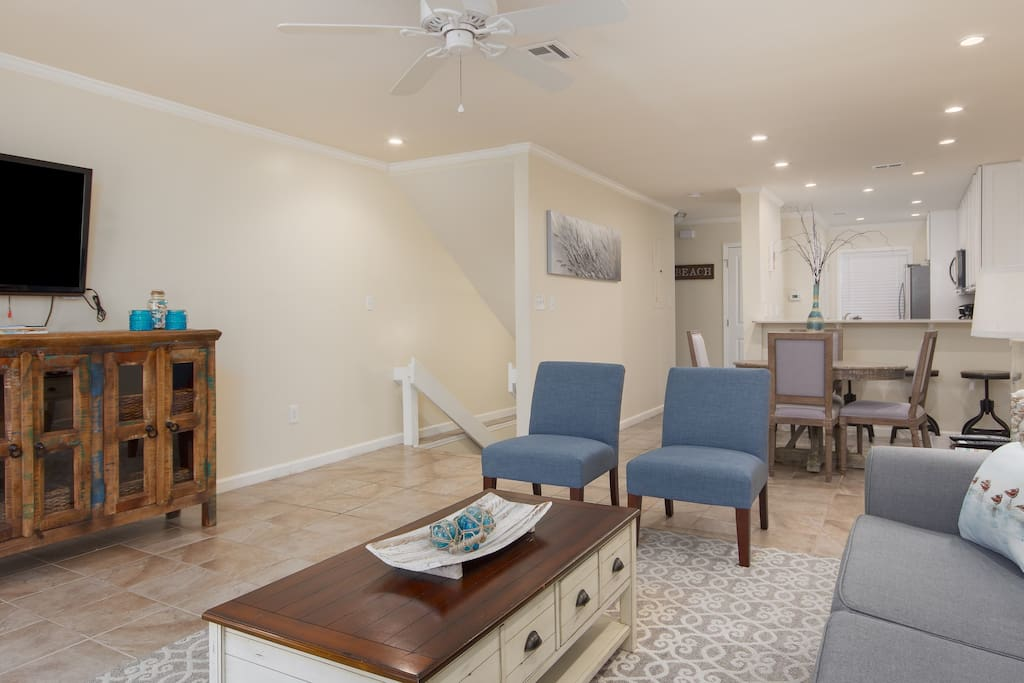 The Spacious & Open Living Room Provides Plenty of Space for Family and Friends!