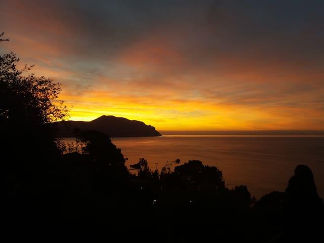 Breath-taking Portofino Promontory seaview attico