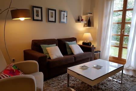 Acogedor Apartamento con jardín privado - Muros de Nalón - Kondominium