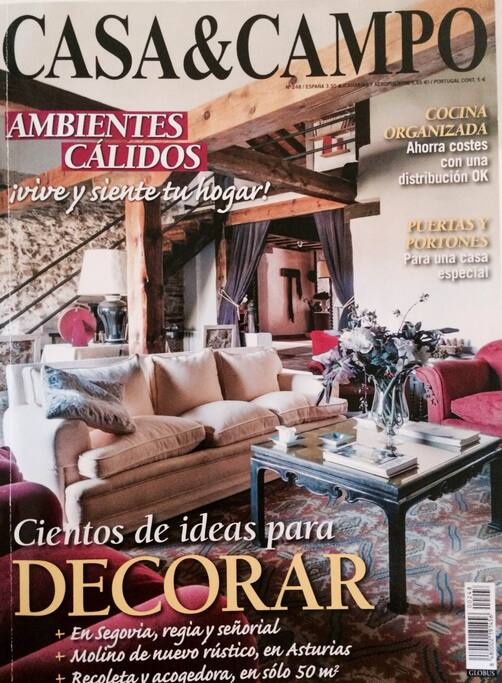 La casa ha sido portada de la revista Casa&Campo