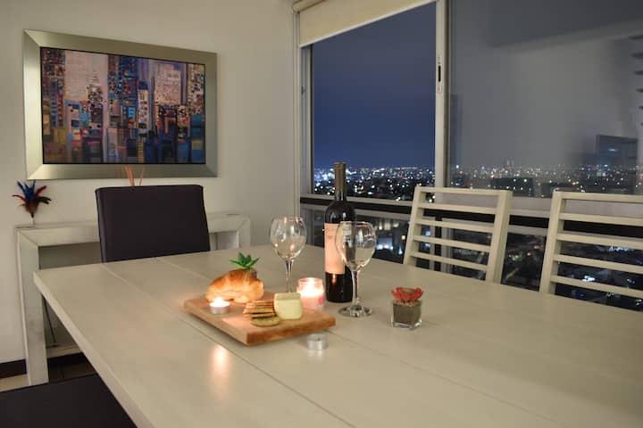 Penthouse con espectacular vista de Guadalajara
