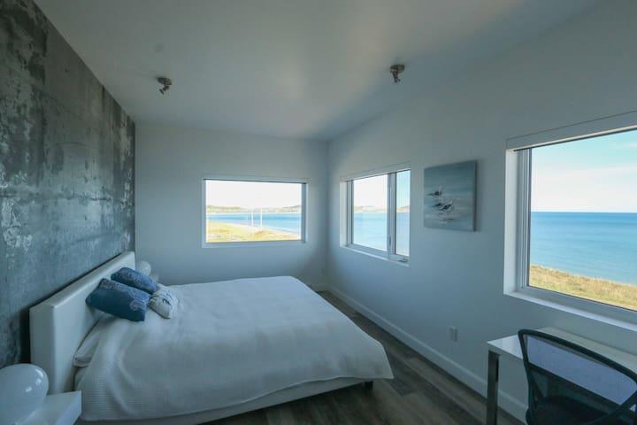 Chambre 1 avec vue sur la mer, SDB privée