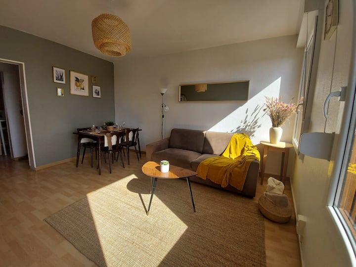 Appartement lumineux et charmant