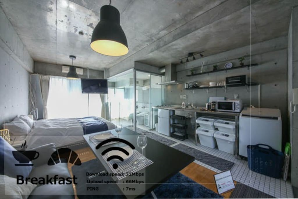 Dreamy bed and delicious breakfast appartements louer for Bed and breakfast tokyo