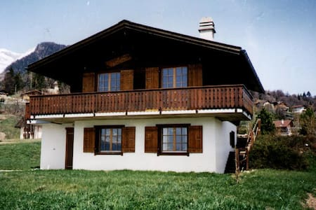 Chalet de vacances - Arbaz - Hytte (i sveitsisk stil)