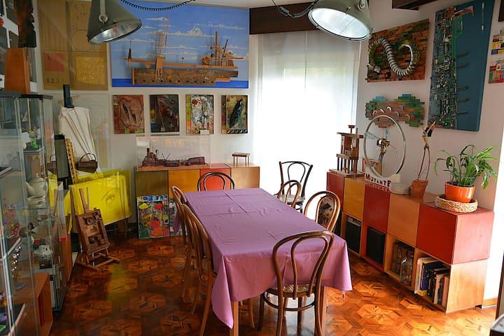 Art & Breakfast Atelier - Stanza matrimoniale