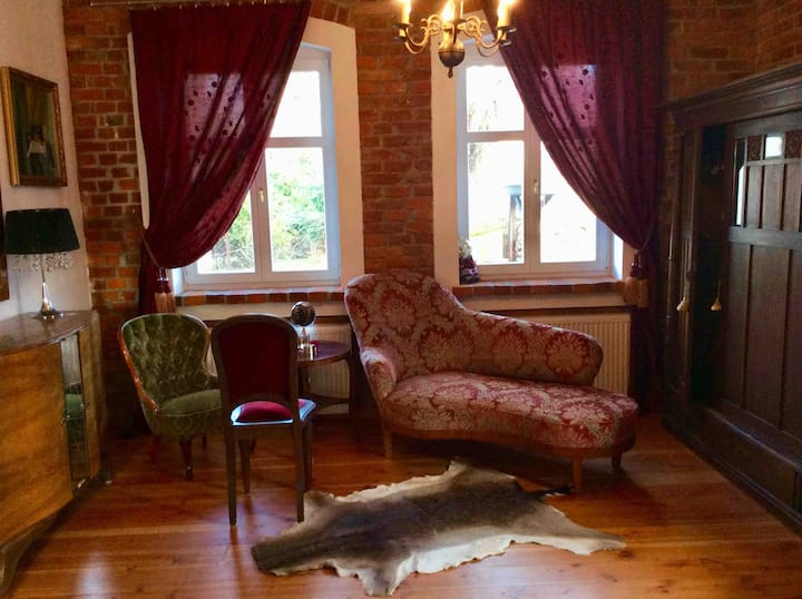 Beautiful room in antique Baltic Holiday Home
