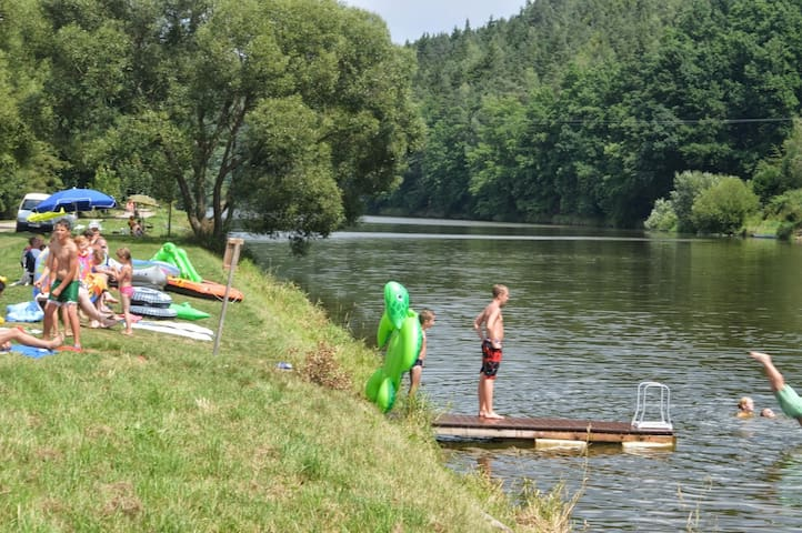 Safaritent op Camping Prima, Tsjechië