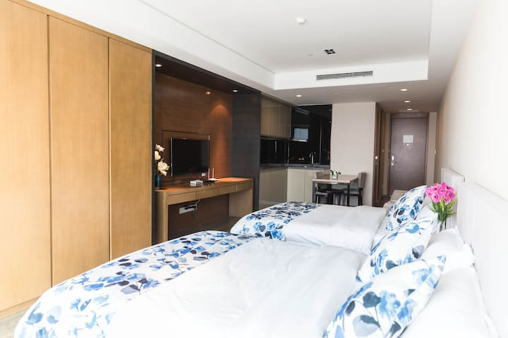德玛西亚舒适海景度假公寓 - Qingdao - Serviced apartment