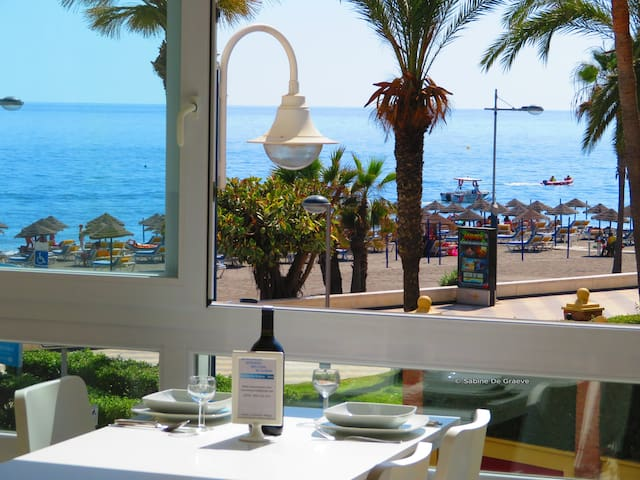 "COSTORO-1BB ""Seaside view on the beach"" NERJA"