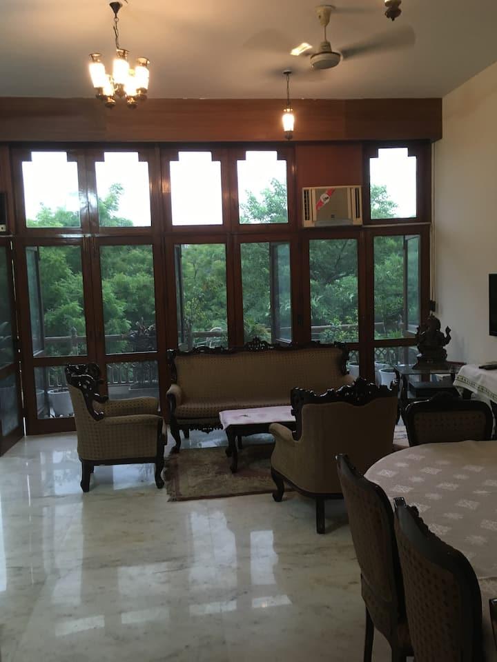 3 Bedroom Apt. in the safest district of New Delhi