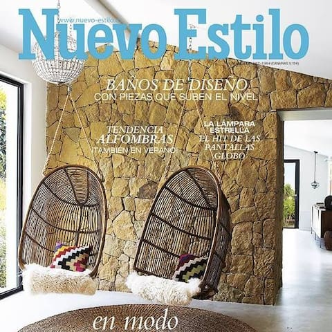 "Finca Florita - as featured in Spanish Design Magazine ""Nuevo Estilo"""