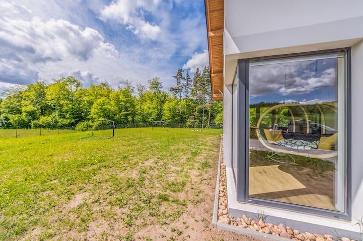 """Comfortable house  in  """"Szwajcaria Kaszubska"""""""