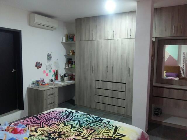 Habitación privada en departamento de urbanización