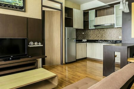 High Livin' Apartment 3 Bedroom - Bandung - Daire
