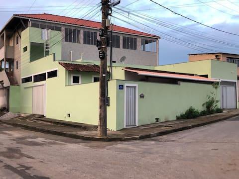 Casa de praia Anchieta 1500 m com ar condicionado