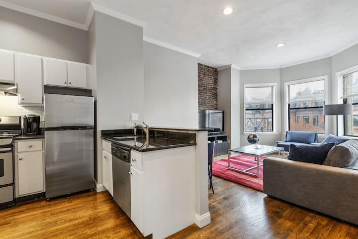 Beautiful Remodeled South End Condo