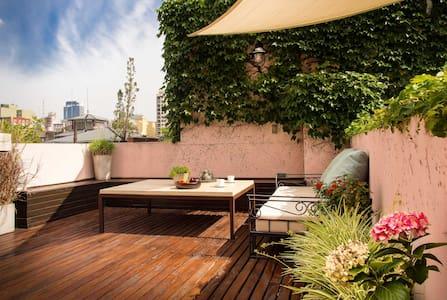 ::Private Terrace-Big bright studio-Top Location:: - Buenos Aires - Leilighet