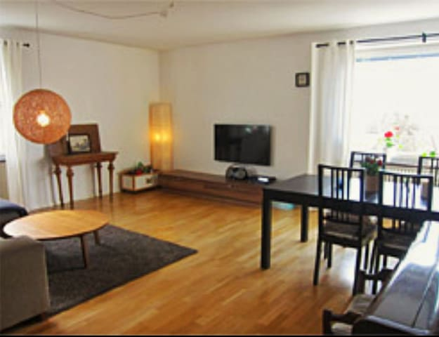 Family friendly living close to city, 4 rooms
