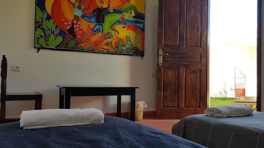 """DavMahal - Double room (2 beds) """"Zen"""""""