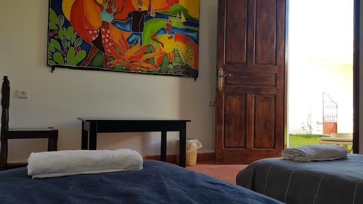 "DavMahal - Double room (2 beds) ""Zen"""