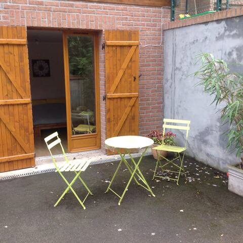 Chambre/studio au calme - Amiens - Rumah