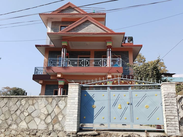Pokhara Home with very beautiful view of mountain.