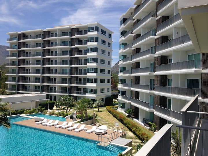 Thailand Beach Front Resort Condominium
