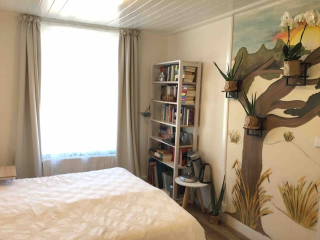 Heerlijk ruime slaapkamer centrum Enkhuizen