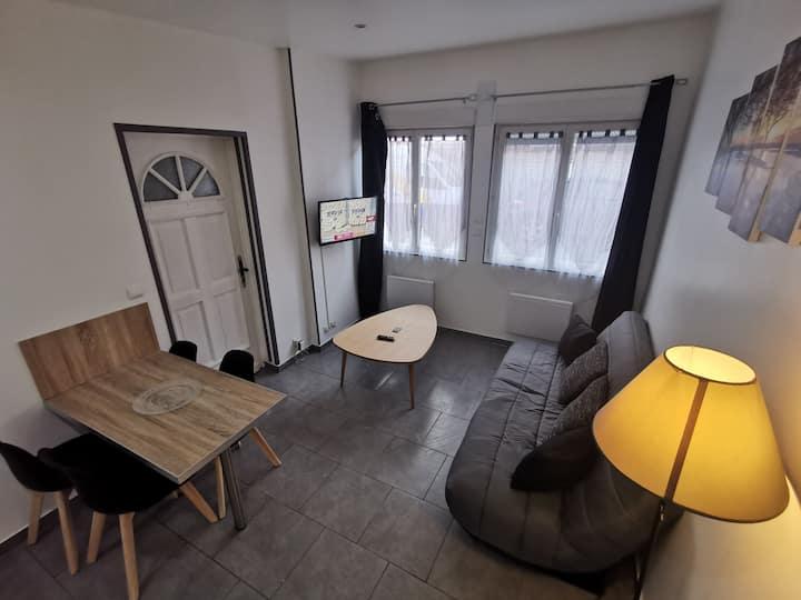 H studio meublé 4 couchages
