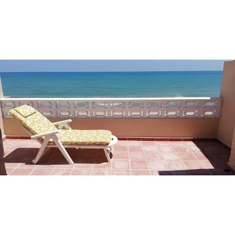 Casa grande en la playa (House on the beach)