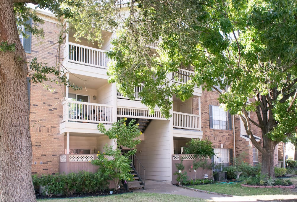 The condo is located in the Richmond manor complex. Enjoy your stay stress free with a gated entrance and a reserved parking spot just for you!