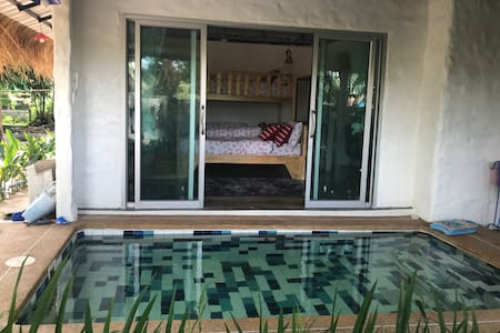 pool villa บ้านสวนสมถะ ฟาร์มสเตย์