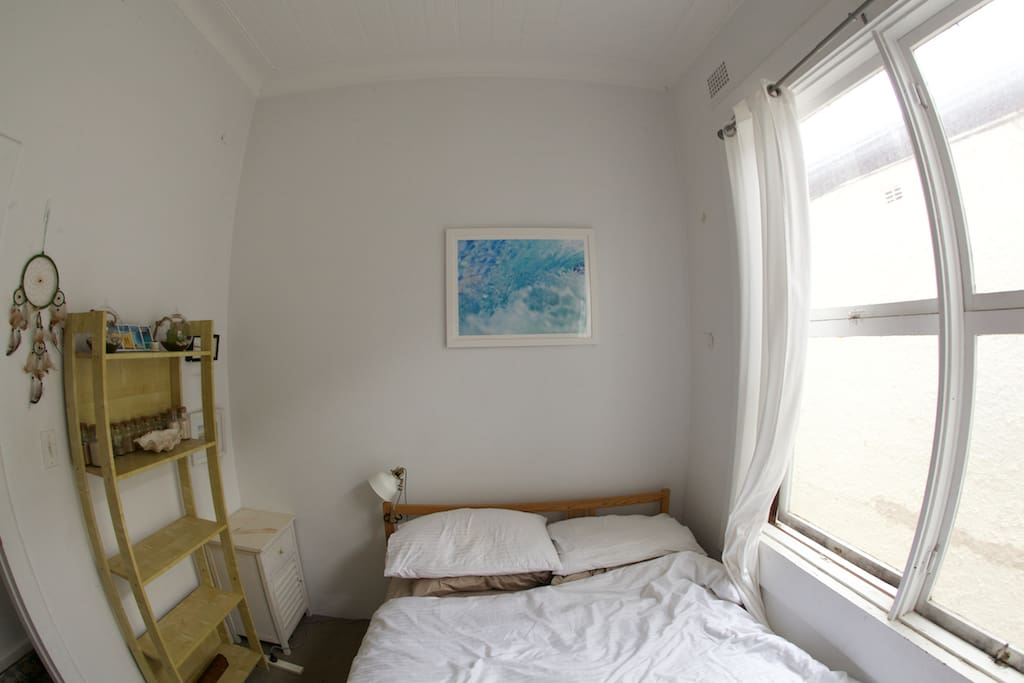 Large private bedroom (super comfy)