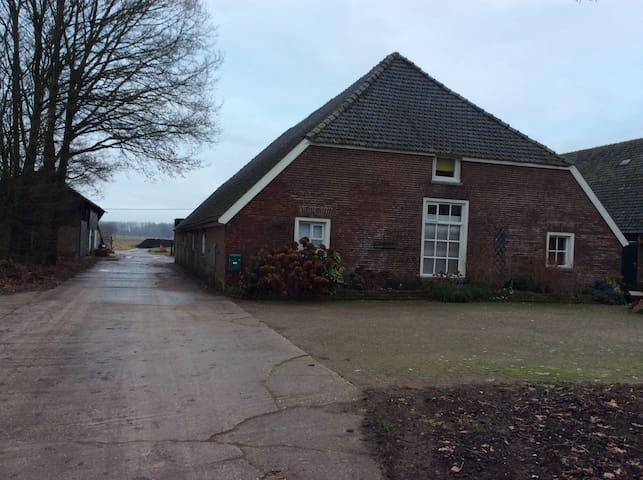 Appartement in boerderij Wijhe - Wijhe - Daire