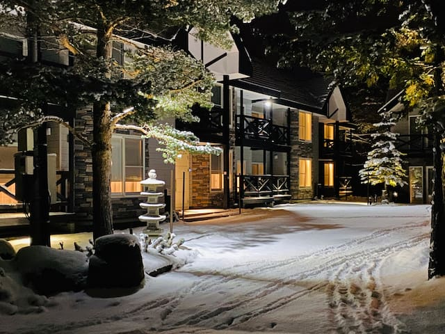 Garden view, serviced apartment: 1 bedroom, onsen