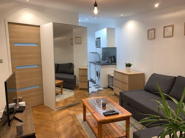 Studio confort/moderne proche Paris et transports
